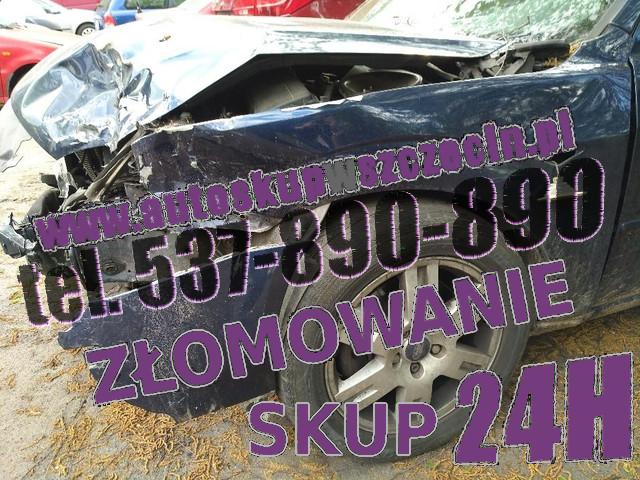 skup aut rozbitych bobolice