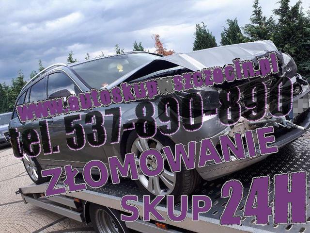 skup aut uszkodzonych węgorzyno