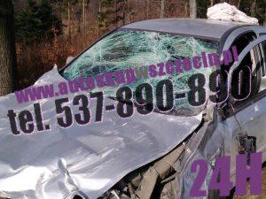 skup aut uszkodzonych wołczkowo